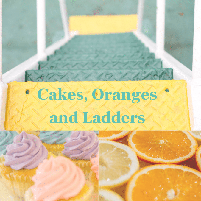 Strategic marketing: Cakes, oranges and ladders